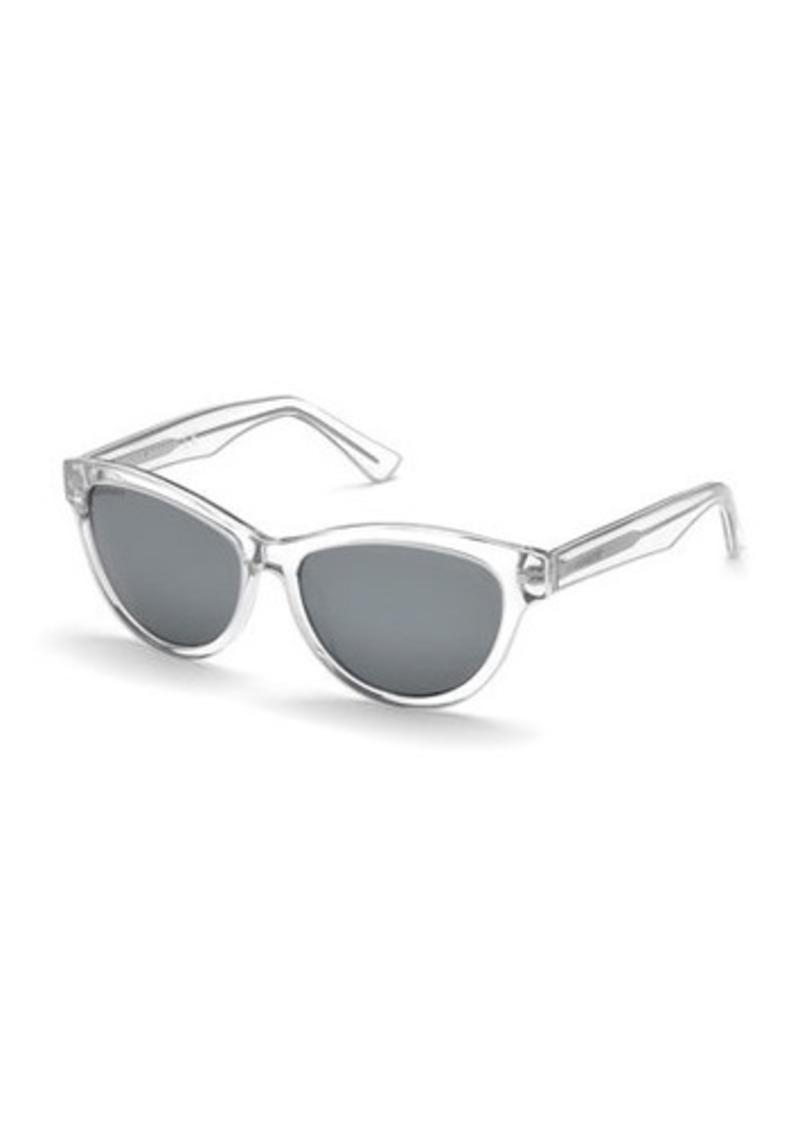 Dsquared2 Transparent Cat-Eye Plastic Sunglasses