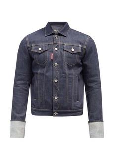 Dsquared2 Triple-X Cuff denim jacket