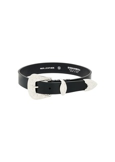 Dsquared2 western style choker - Black