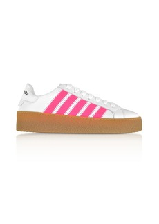Dsquared2 White Leather Womens Sneakers
