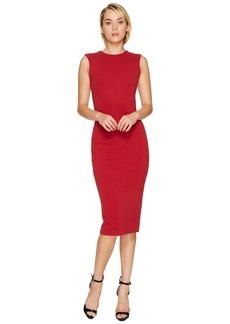 Dsquared2 Wool Jersey Sleeveless Dress
