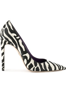 Dsquared2 zebra print pumps - Black