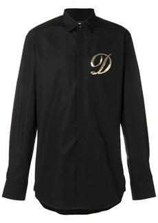Dsquared2 embellished D shirt