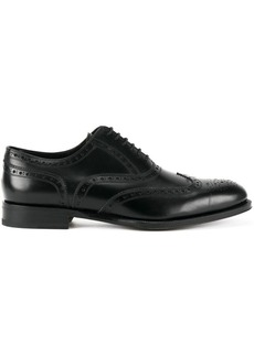 Dsquared2 embroidered derby shoes