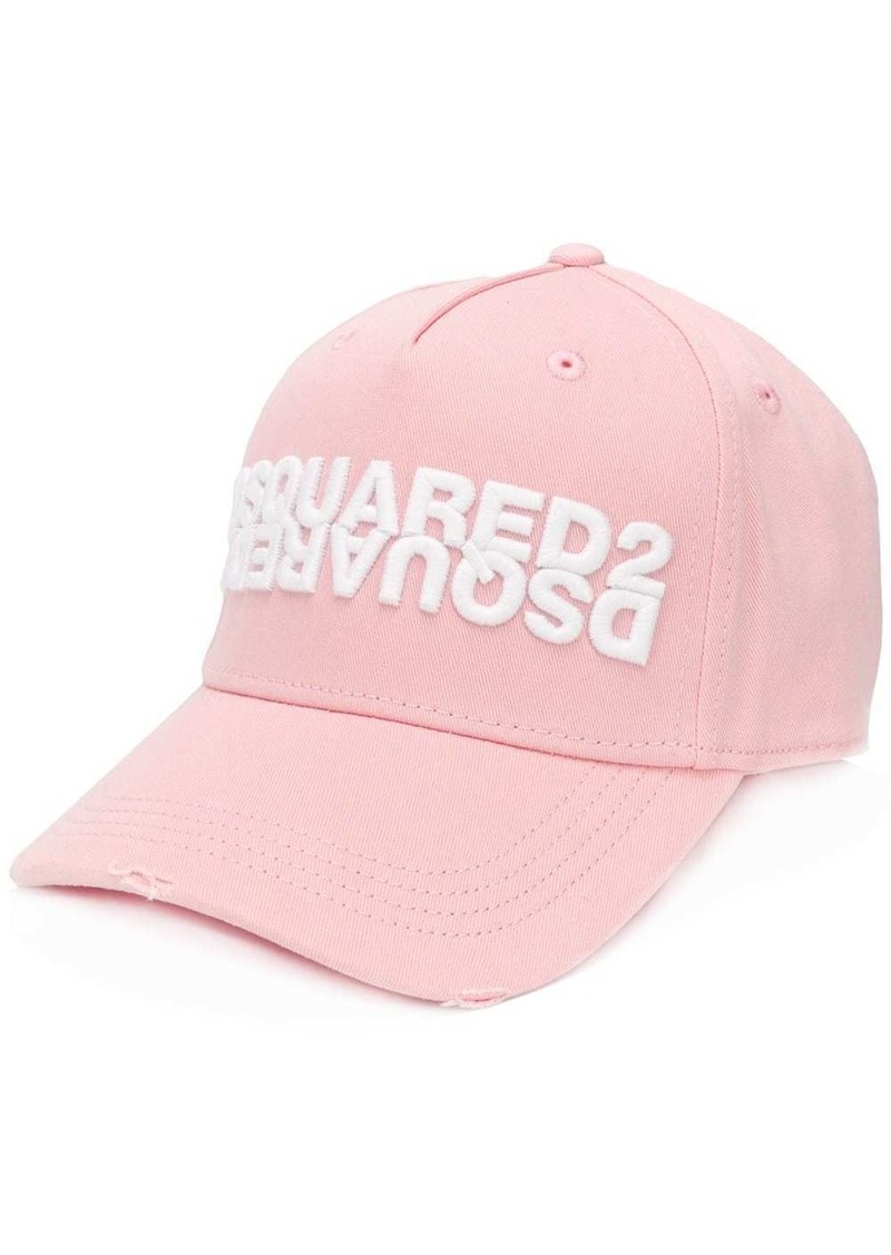 Dsquared2 embroidered logo baseball cap