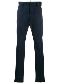 Dsquared2 embroidered logo tailored trousers