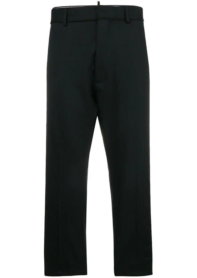 Dsquared2 embroidered stripe trousers