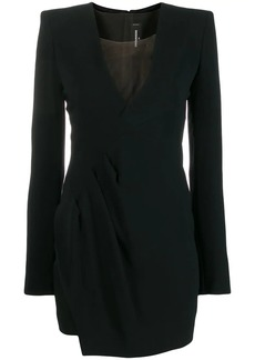 Dsquared2 evening dress with structured shoulders