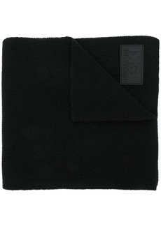 Dsquared2 fine knit logo scarf