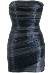Dsquared2 fitted bandeau dress