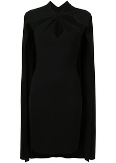 Dsquared2 fitted cape dress