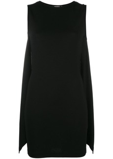 Dsquared2 fitted cape style dress