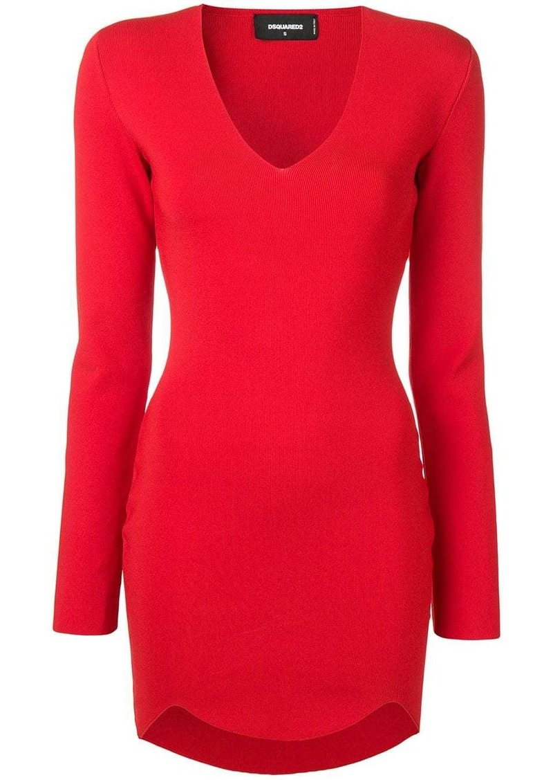 Dsquared2 fitted short dress