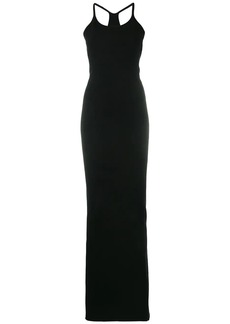 Dsquared2 fitted sleeveless gown
