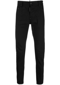 Dsquared2 fitted slim-fit jeans