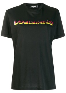 Dsquared2 Flames logo print T-shirt