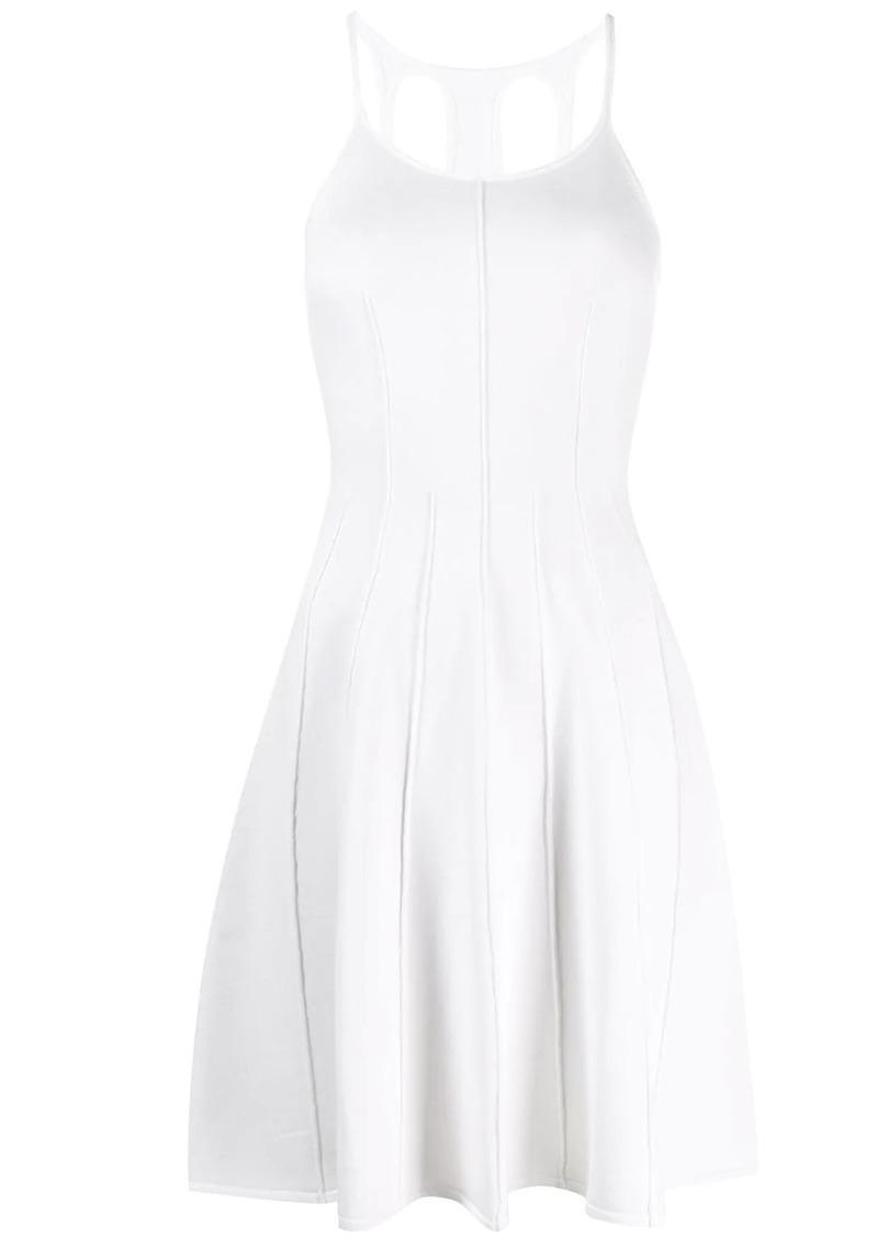Dsquared2 flared sleeveless dress
