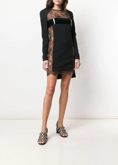 Dsquared2 floral lace mini dress