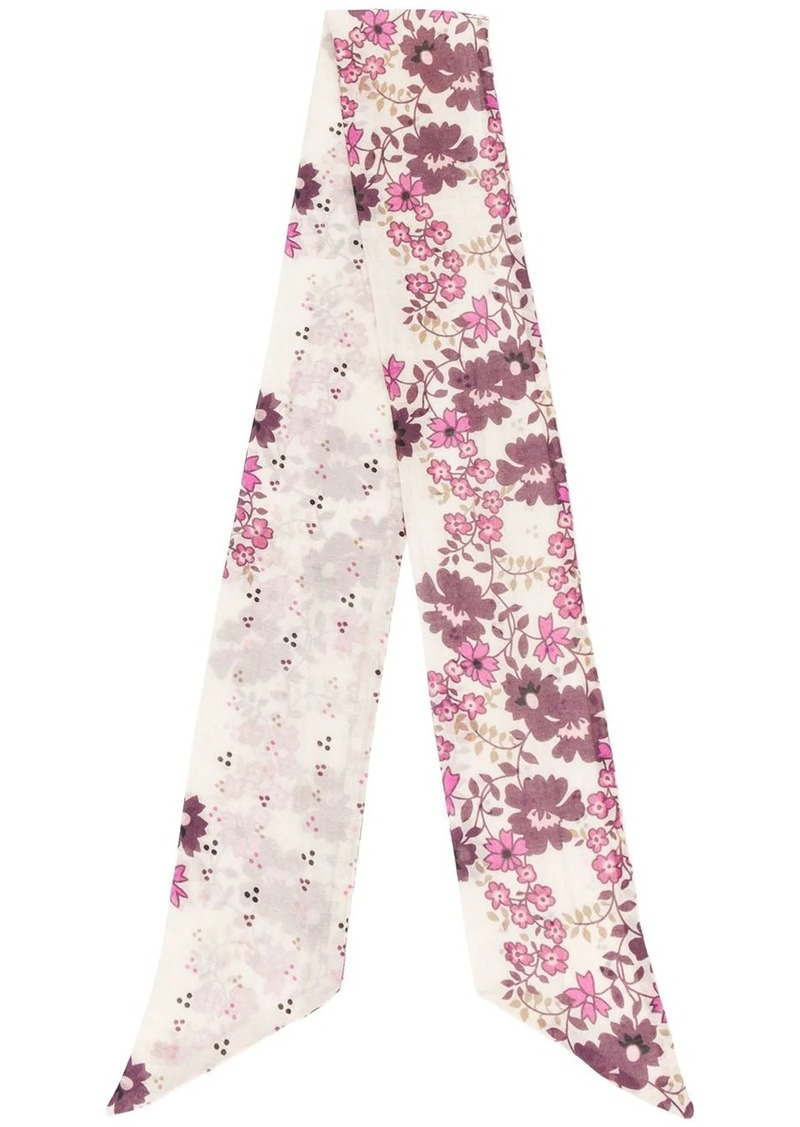 Dsquared2 floral print neck scarf