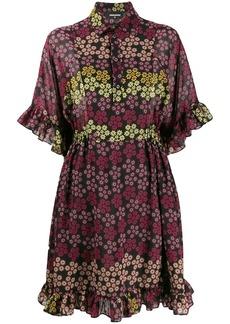 Dsquared2 floral print shirt dress