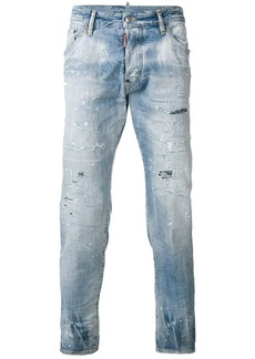 Dsquared2 frayed cropped jeans