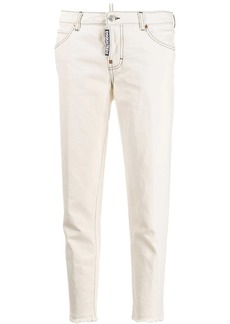Dsquared2 frayed hem jeans