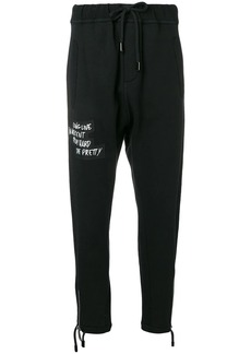 Dsquared2 front patch track pants