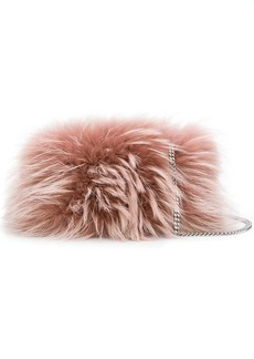 Dsquared2 fur clutch