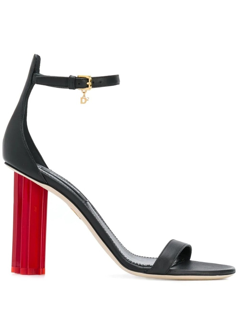Dsquared2 geometric heel sandals