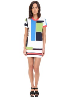 Dsquared2 Geometric Shift Dress