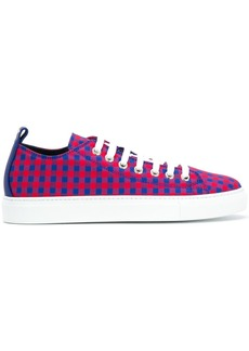 Dsquared2 gingham low top sneakers