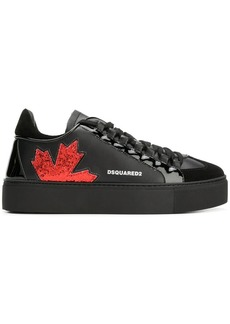 Dsquared2 glitter embellished sneakers