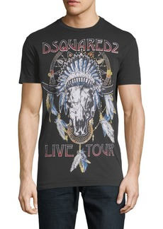 Dsquared2 Graphic Cotton Tee