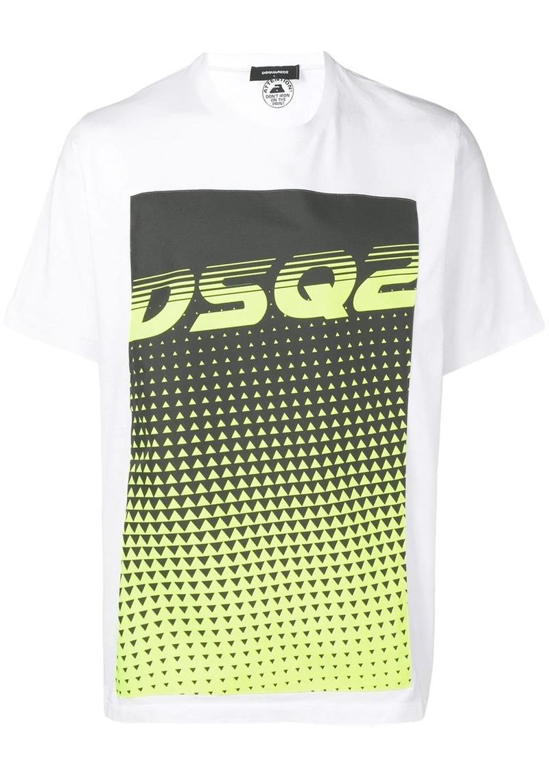 Dsquared2 graphic logo T-shirt