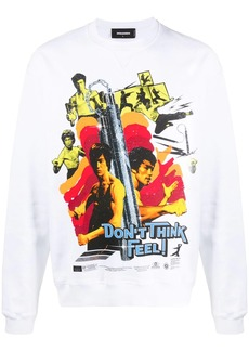 Dsquared2 graphic print cotton sweatshirt