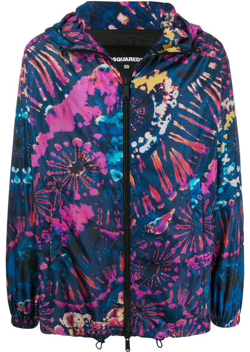 Dsquared2 graphic print jacket