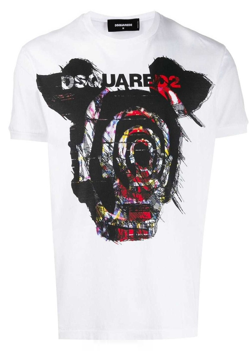 Dsquared2 graphic printed logo T-shirt