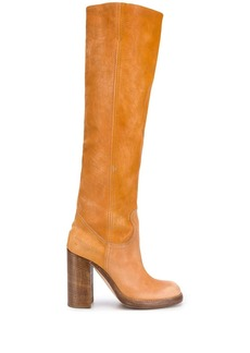 Dsquared2 heeled knee high boots