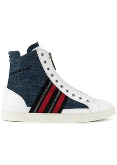 Dsquared2 hi-top sneakerss