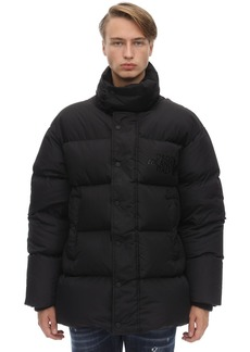 Dsquared2 High Collar Techno Down Jacket