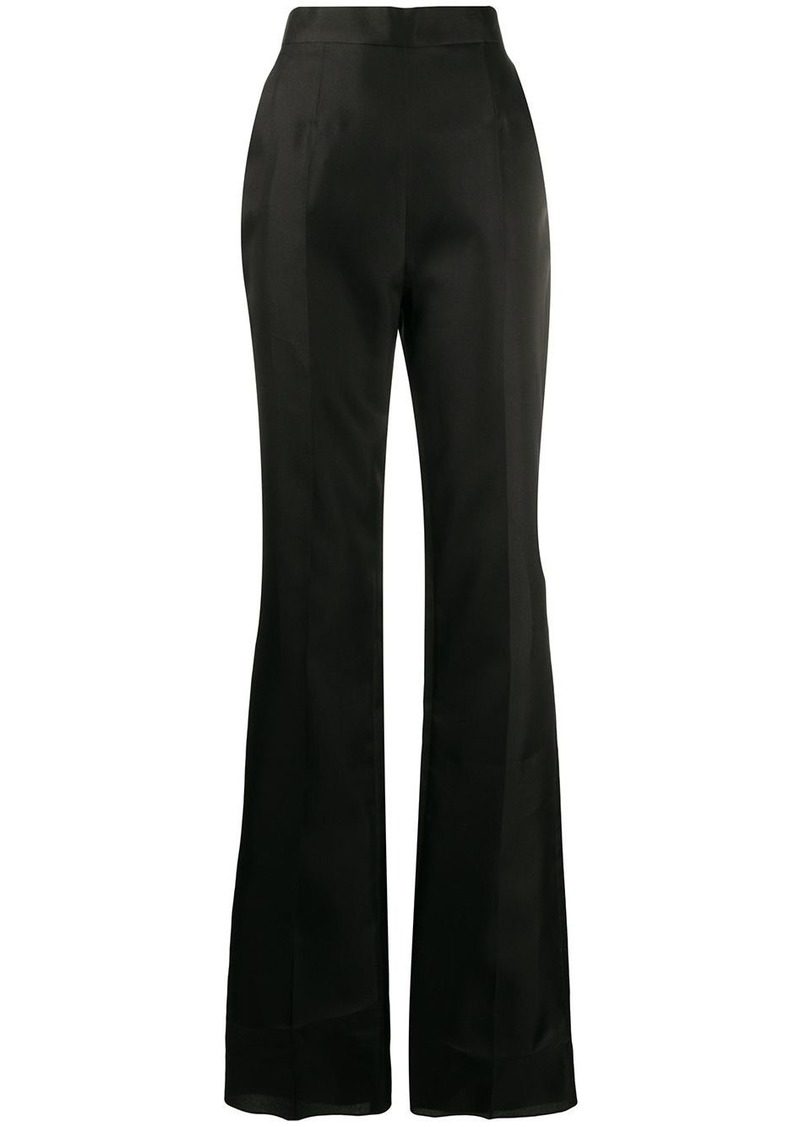 Dsquared2 high-rise flared trousers
