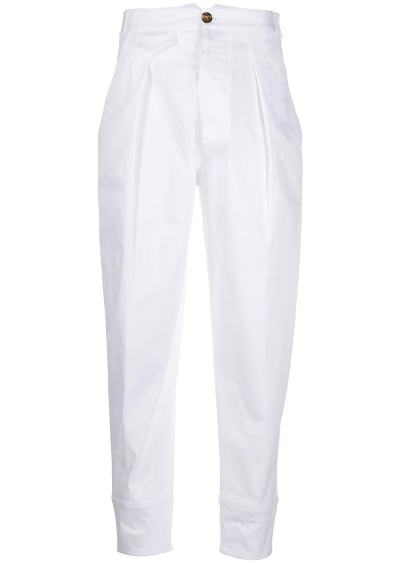 Dsquared2 high-waisted balloon trousers