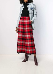 Dsquared2 high waisted checked trousers