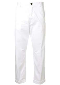 Dsquared2 high-waisted chino trousers