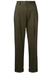 Dsquared2 high-waisted cropped trousers