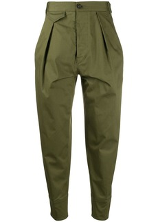 Dsquared2 high-waisted tapered trousers