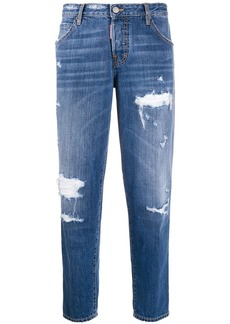 Dsquared2 Hockney cropped jeans