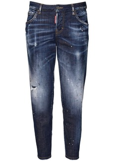 Dsquared2 Hockney Dark Iphone Wash Denim Jeans
