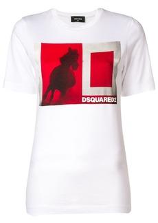 Dsquared2 horse print T-shirt