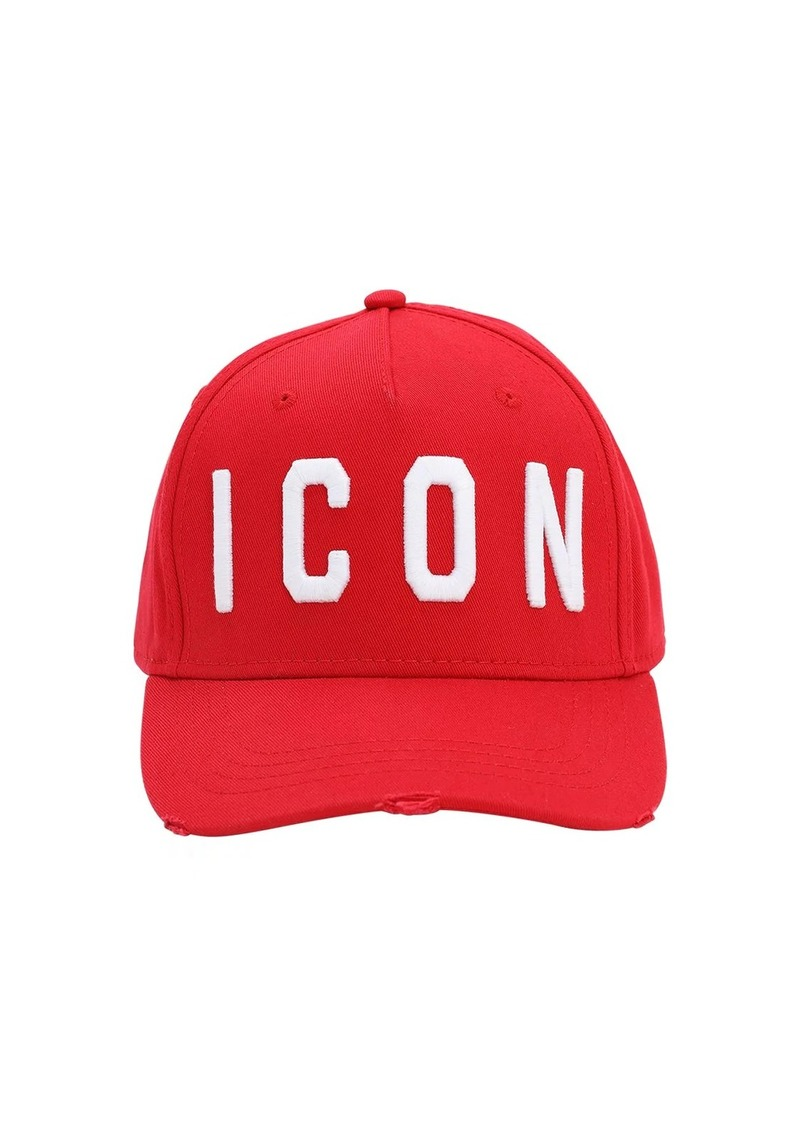 Dsquared2 Icon Cotton Baseball Hat